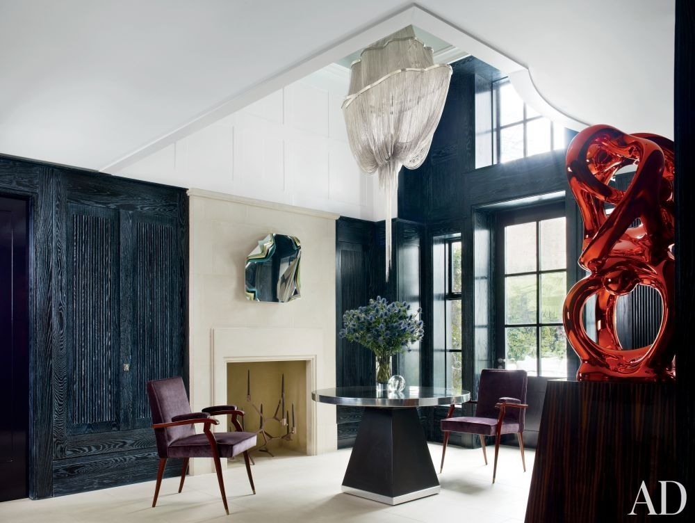 11 times arch digest has worked the paint it black trend entry