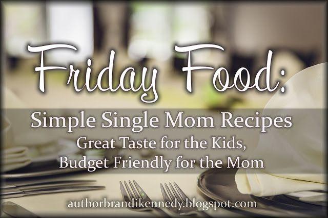 The Musings of Brandi Kennedy: Friday Food: Simple Single Mom Recipes (Nachos)