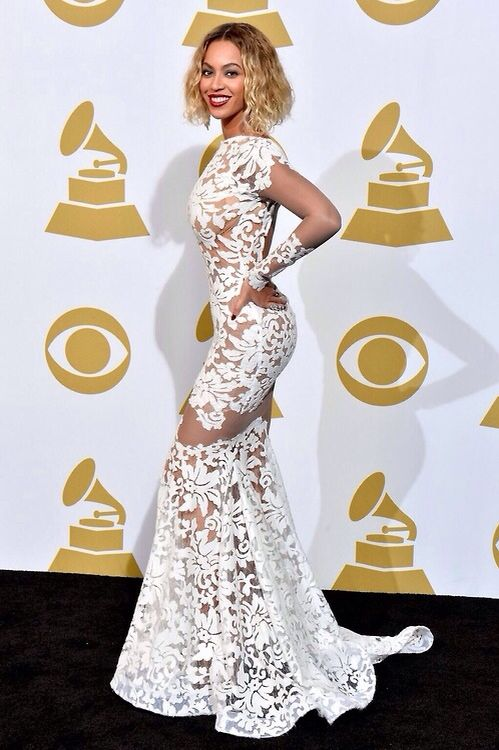 c98d5fb4bf03 Beautiful Dress at the Grammys worn by Beyonce (Theyallhateus.com ...