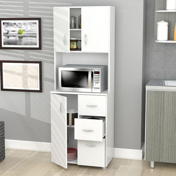 Inval Tall Kitchen Storage Cabinet Kitchen Storage CabinetLarcinia