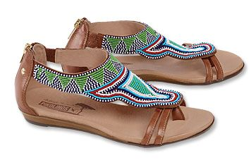 Just found this Soft+Leather+Beaded+Gladiator+Sandals+-+Pikolinos+Maasai- Beaded+Gladiator+Sandals+--+Orvis on Orvis.com!