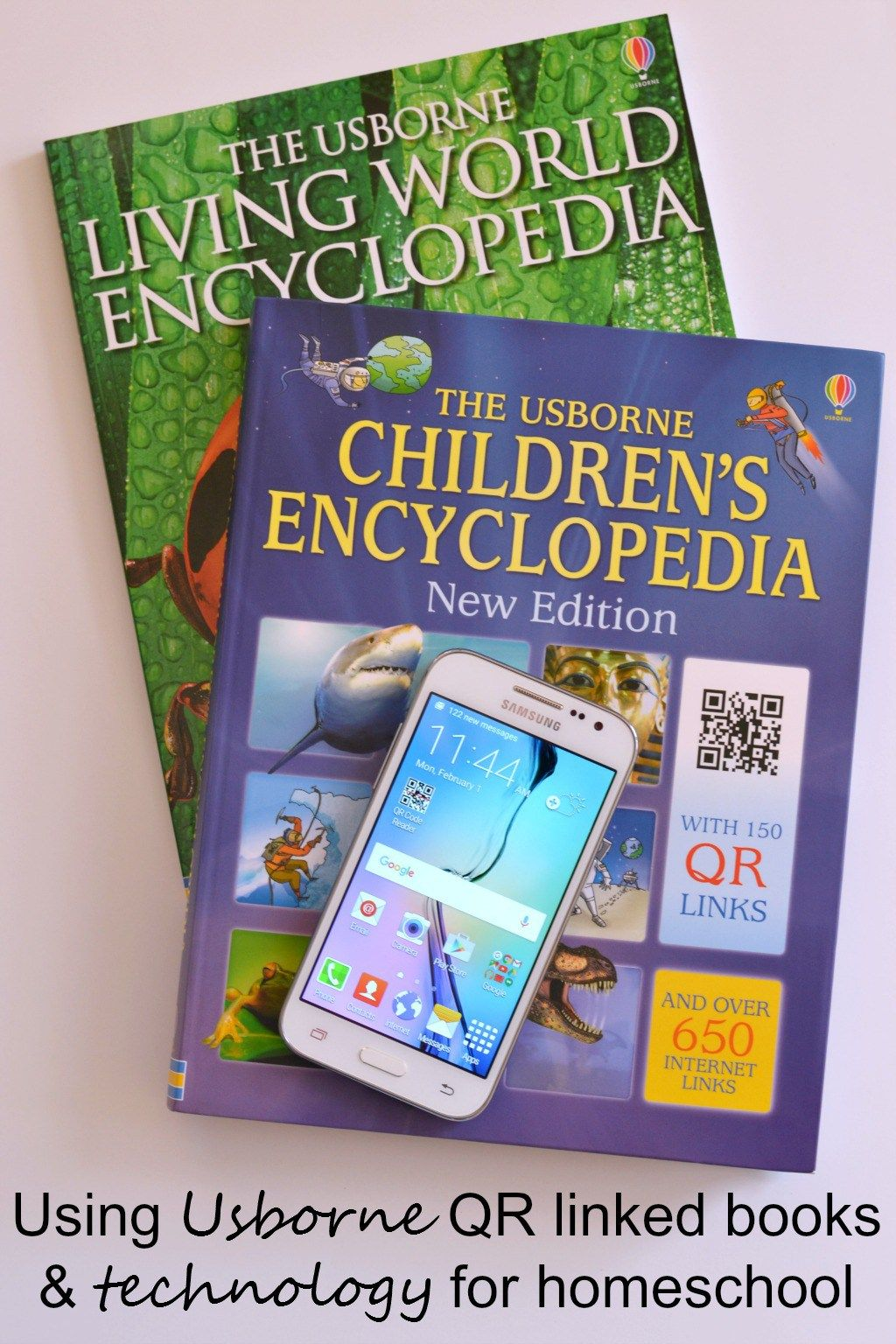 Books + Technology = Perfect Homeschooling Tools Our