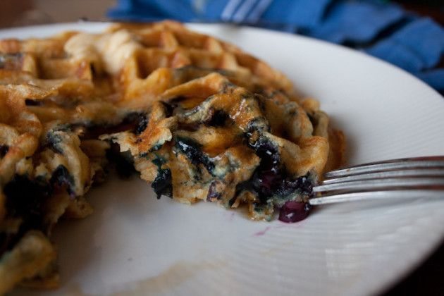 Blueberry Waffles: A Great Way to Start the Day - Food Fanatic