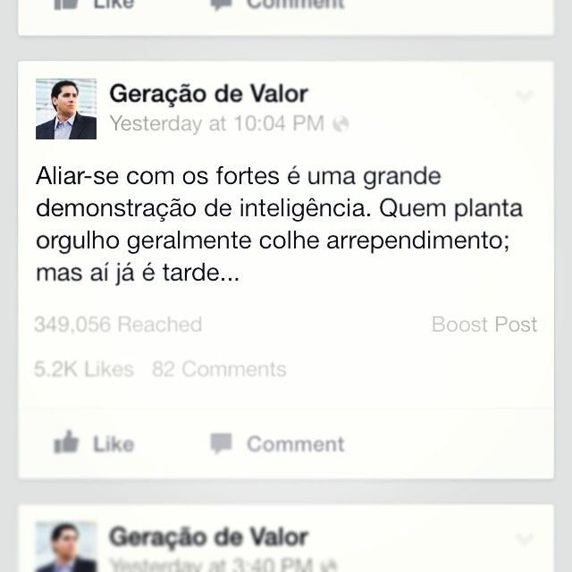 Ver esta foto do Instagram de @geracaodevalor • 883 curtidas