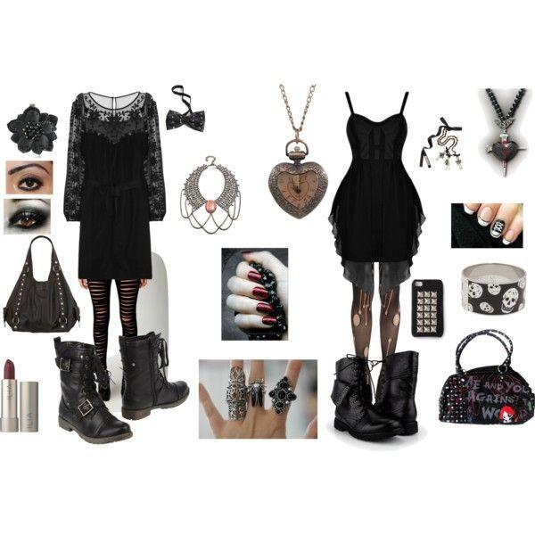 Black gothic dresses cheap