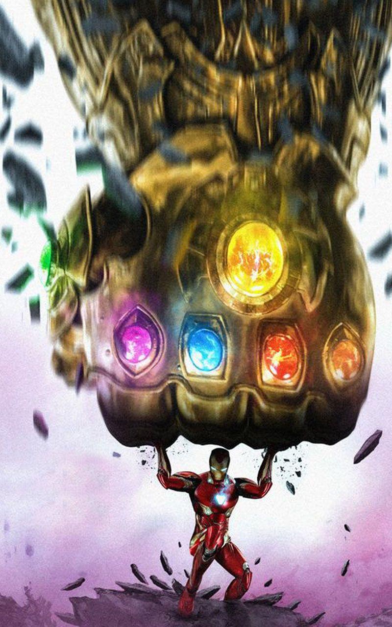 Iron Man Hd Wallpaper Thanos Marvel Marvel Art Marvel Drawings