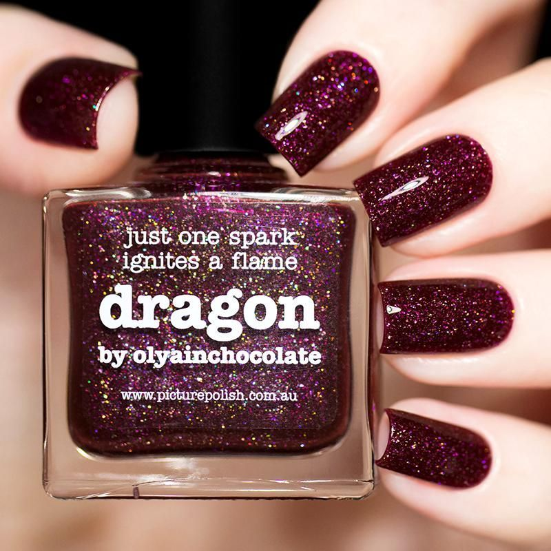 Picture Polish Dragon Nail Polish (Fall 2017 Collection) | Halloween ...