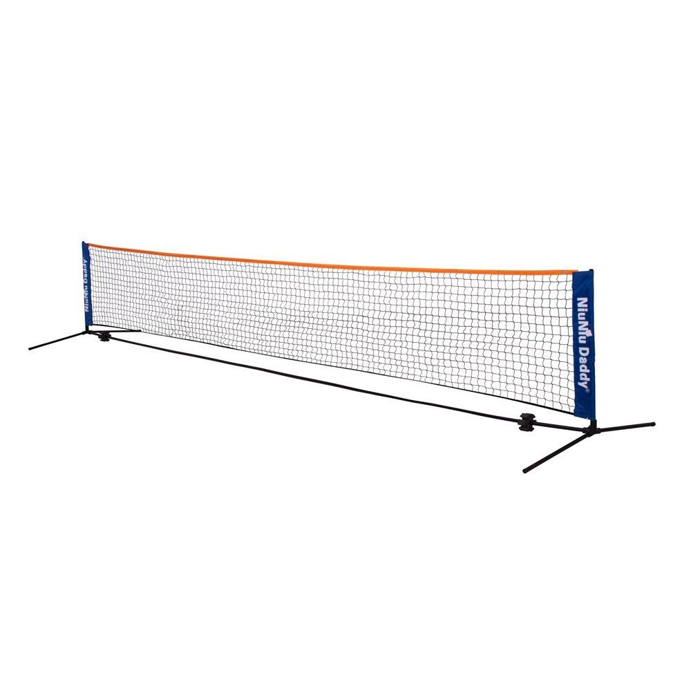 Amazon Com Niuniu Daddy Portable Badminton Volleyball Tennis Net Set With Stand Frame Http Amzn To 2us1n8o Tennis Nets Badminton Badminton Nets