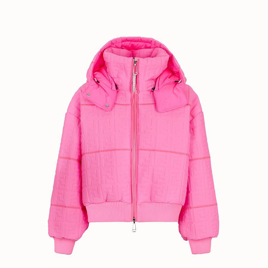 Fendi Prints On Lycra Down Jacket Pink Silver Code Faa471ab3mf0g0p Nicki Minaj X Fendi Com Loose Fit Fendi Jacket Women Clothes Ladies Coat Design [ 900 x 900 Pixel ]