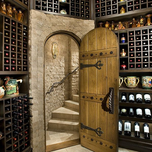 Pin By Ashley Dowdy On Home Ideas Wine Cellar Door Home Wine Cellars Wine Cellar Design