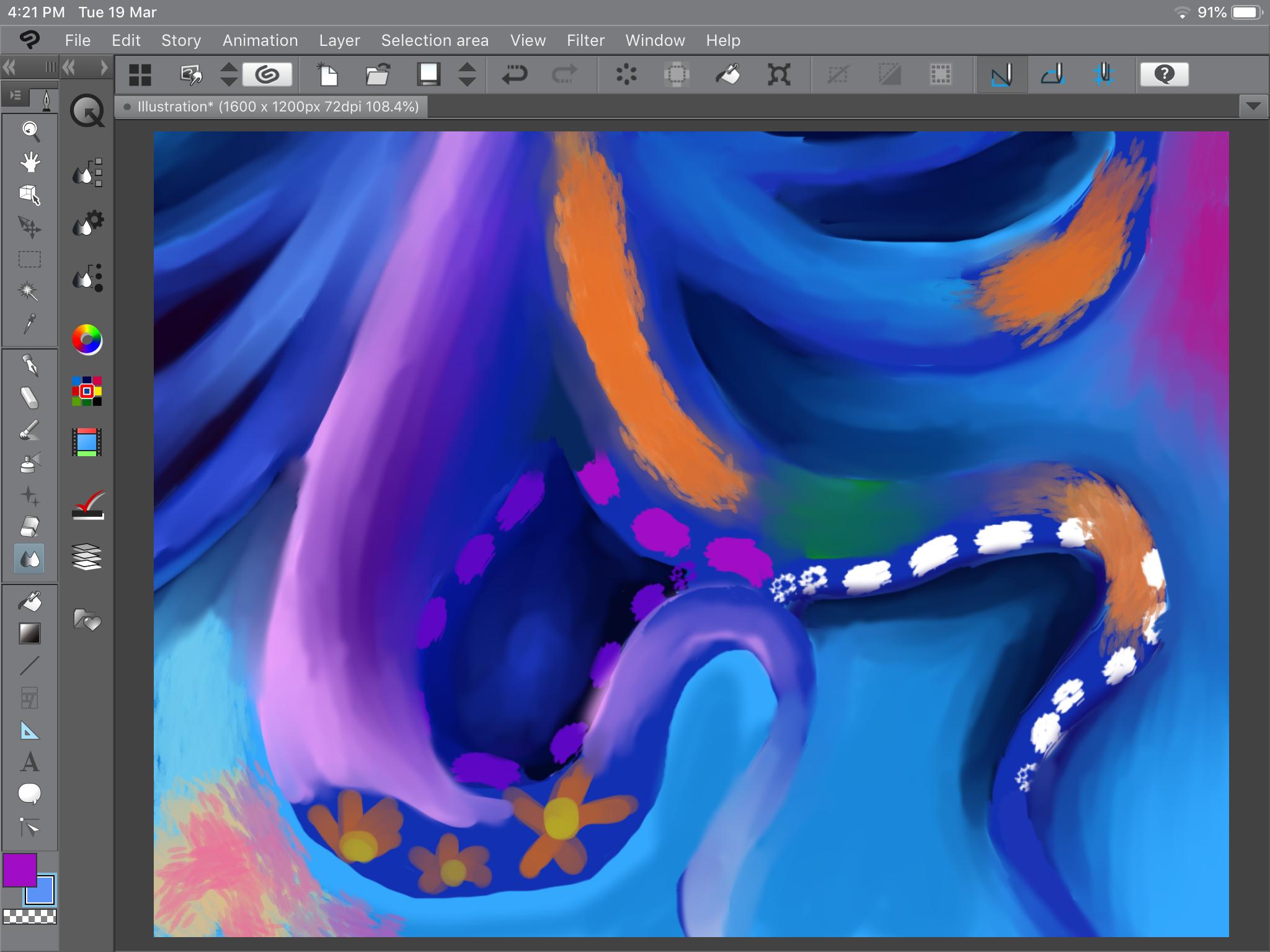 أخطبوط عالم تحت البحر Animation Pandora Screenshot