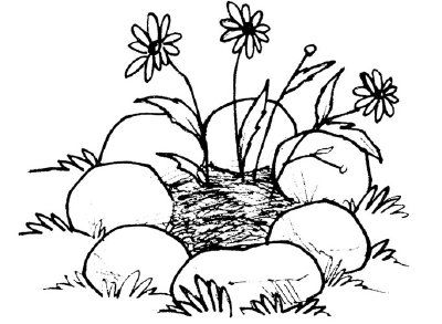Activities With Rocks And Stones Coloring Pages Coloring Rocks Sunday School Coloring Pages
