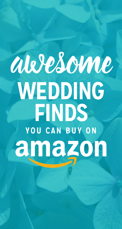 Amazon Prime Wedding Finds : Save Money on Your Wedding