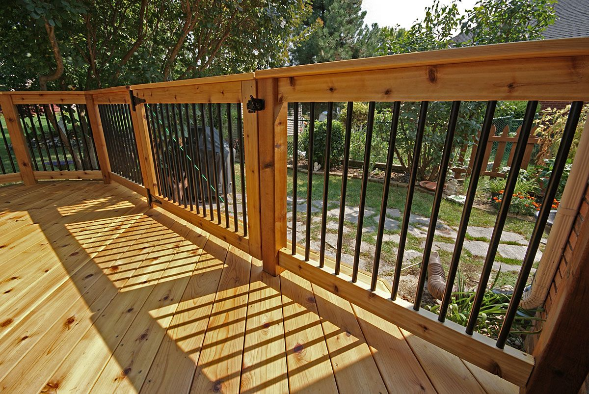 Best Deck Railing Aluminum Balusters Google Search Deck 400 x 300