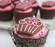 Inspiring picture chocolat, cupcake, cute. Resolution: 500x333 px. Find the picture to your taste!