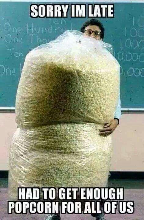f8118e838b3a19cef68ca3ee1523c844 now that's a lot of popcorn! meme pinterest popcorn and meme