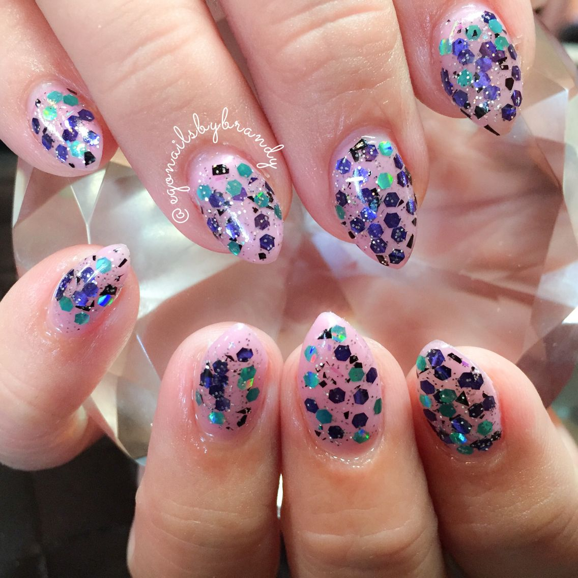 Gel nails #pointynails