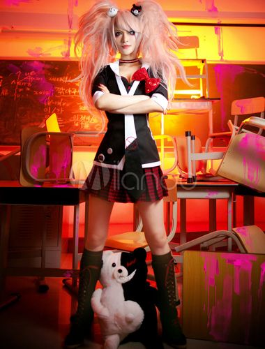 Photo of Danganronpa Cosplay Costumes With Tie And Accessory