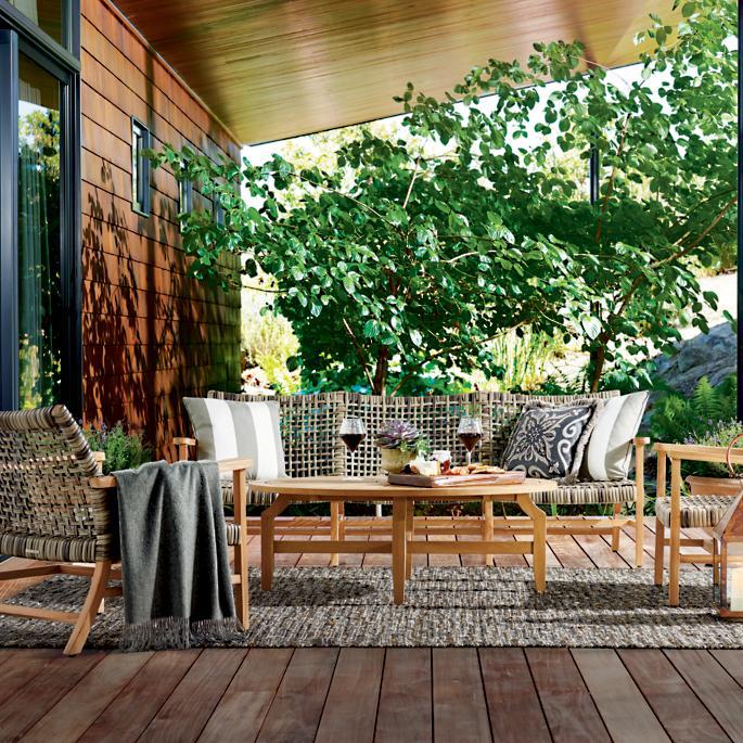 Horizon Oval Teak Coffee Table   House styles, Teak coffee ...