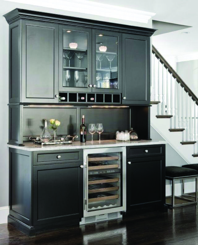 Low Budget Kitchen Cabinets: Stunning Low-budget Wet Bar Examples You'll Love