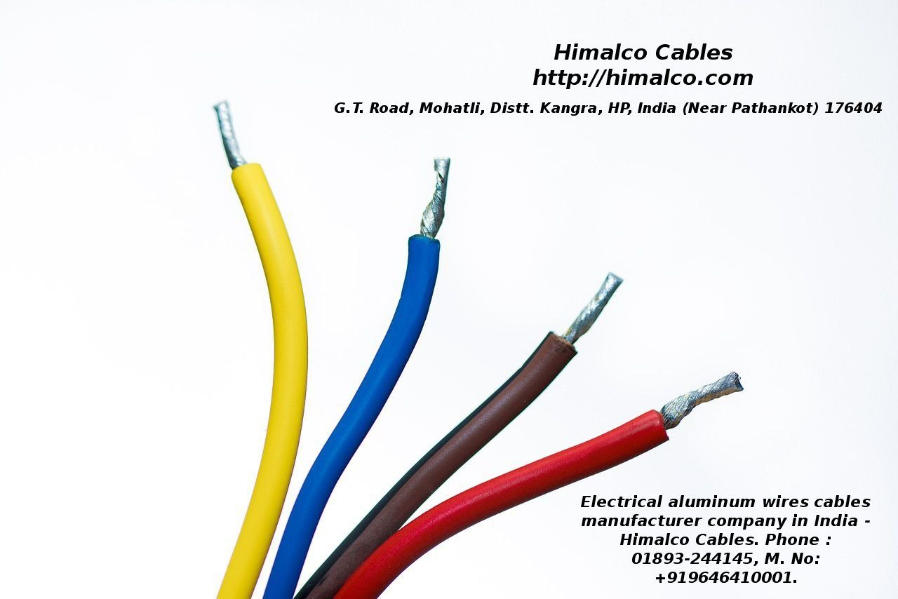 Himalco Cables is a Online #ElectricalWires manufacturers, suppliers ...