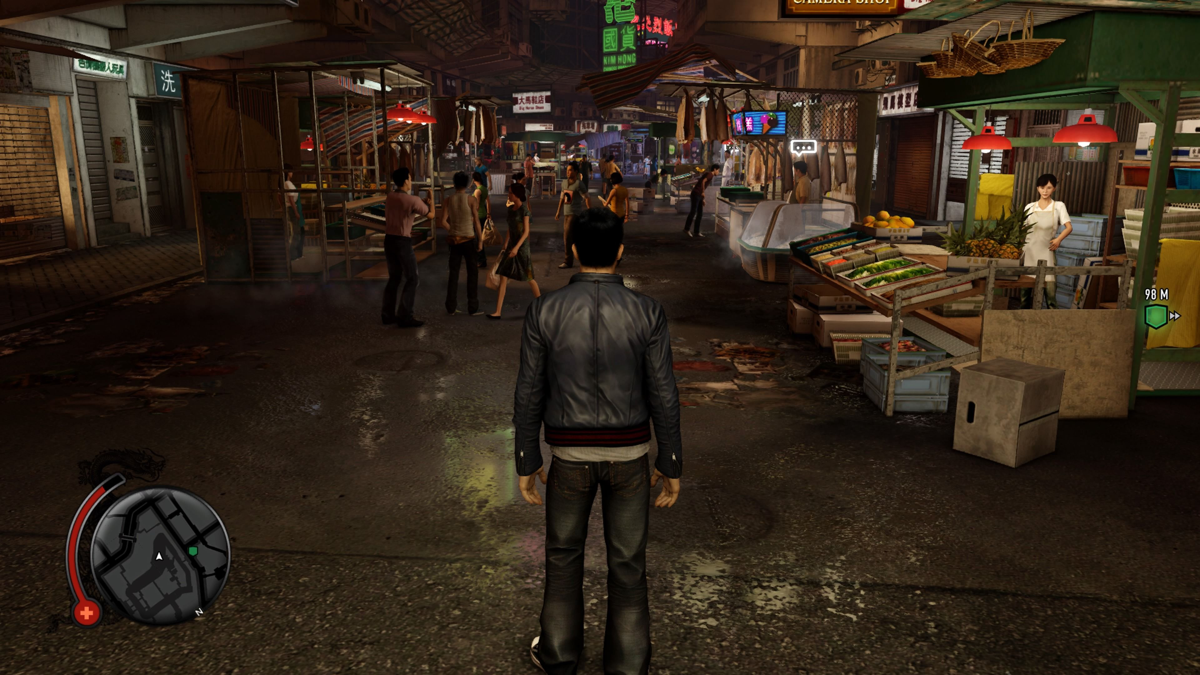 Sleeping Dogs Definitive Edition Image Captured Via Ps4 Screenshot Pc Research For Major Production