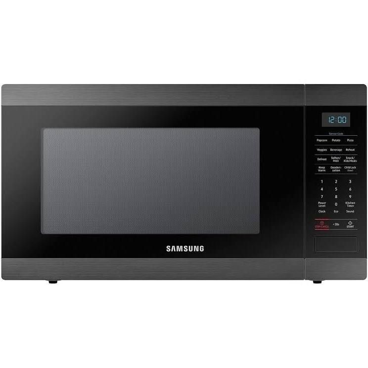 Samsung Ms19m8000ag 950w Microwave 1 9 Cu Ft Black Stainless
