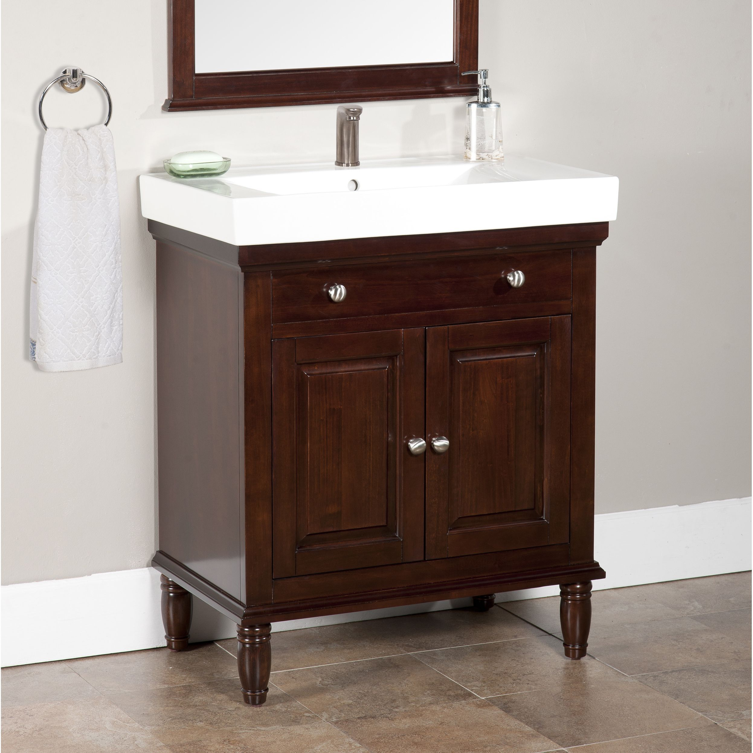Monte Dark Brown 30 Inch Single Bathroom Vanity 30 Dark Brown Single Bathroom Vanity 30 Inch Bathroom Vanity Amazing Bathrooms