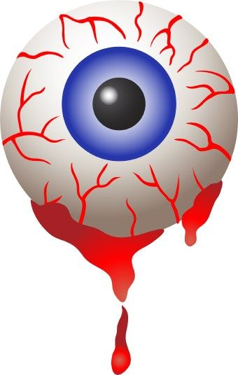 halloween bloodshot eyeball clip art clip art halloween 1 rh pinterest com cartoon eyeball clipart eyeball clipart free