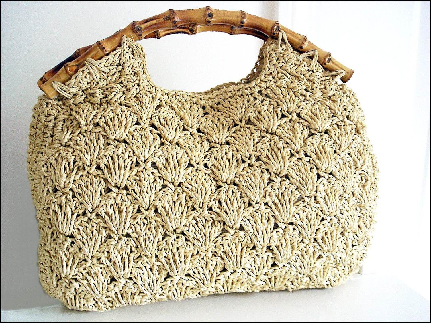 borse uncinetto lana schemi