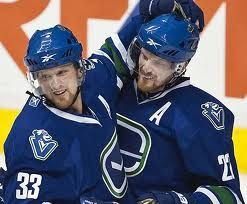 sedin twins - Vancouver Canucks