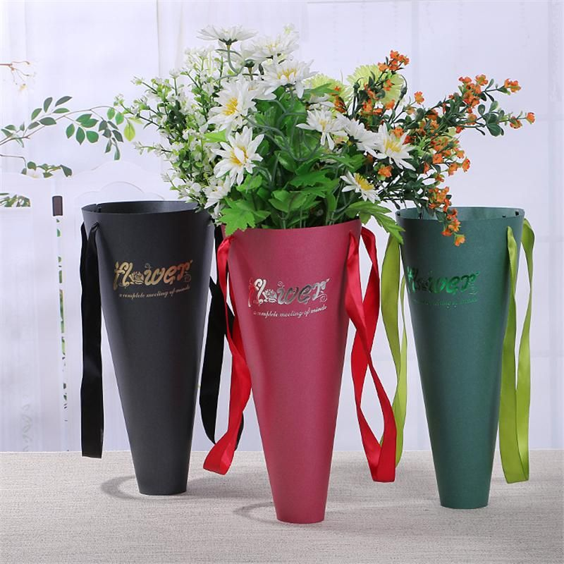 Paper Bag For Flowers Box Packaging Flower Bouquet Gift Packaging
