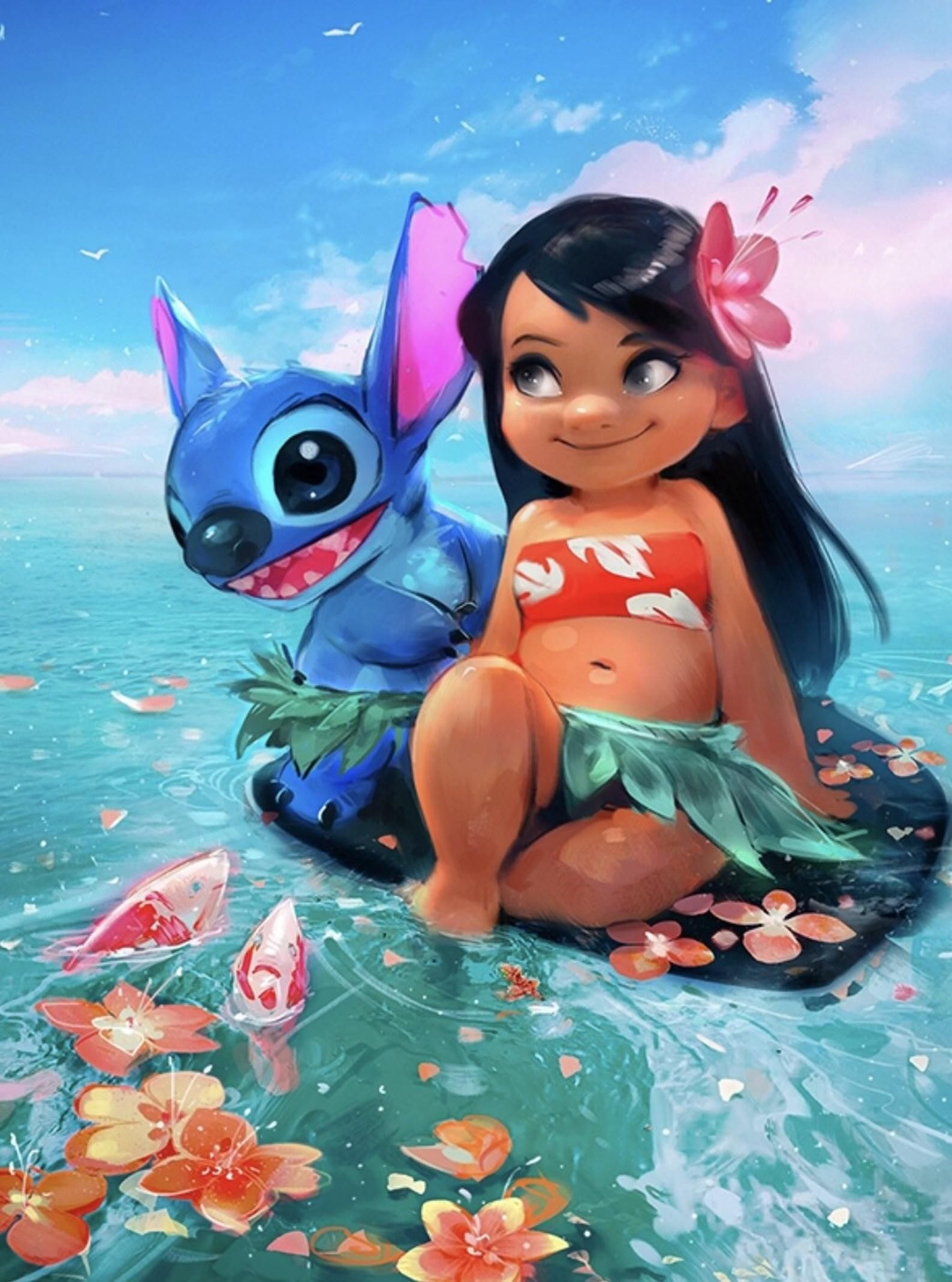 Lilo And Stitche Costume Lilo Stitche Outfit Halloween Costume 2018 Kids Pool Party Kids Birthday Disney Collage Disney Drawings Lilo And Stitch Drawings