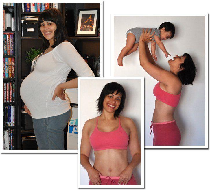 perder peso antes del embarazo