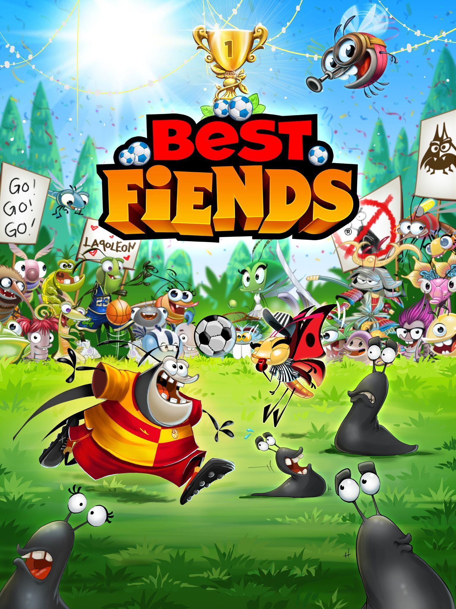 Best Fiends, Futbol 2018 Best fiends, Fiend, Splash screen