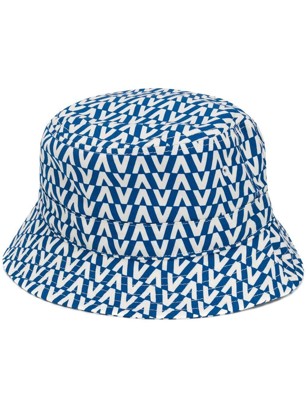 150564eb VALENTINO VALENTINO OPTICAL V BUCKET HAT - BLUE. #valentino ...