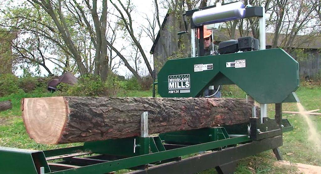 Portable Sawmill For Sale >> Hm 126 Portable Sawmill An Affordable Slab Making Machine