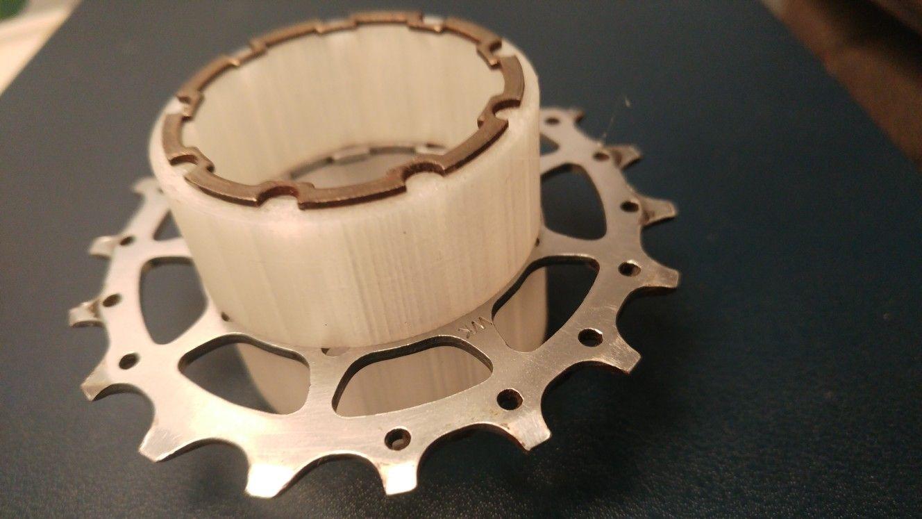 3d print single speed spacer singlespeed diy cheap spacer