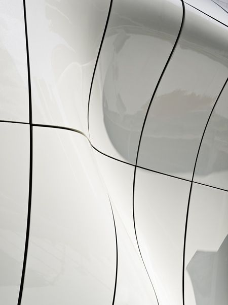 Detail Of The Mobile Art Pavilion For Chanel By Zaha Hadid