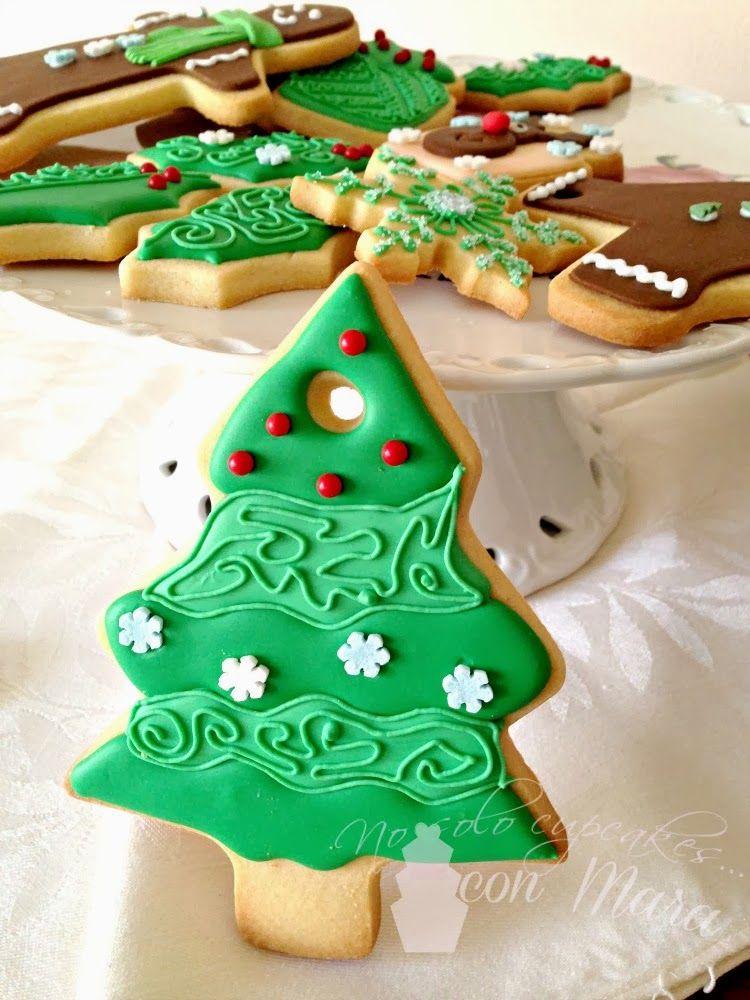 Imagenes De Galletas De Navidad Decoradas.Galletas Navidenas Decoradas Con Glasa Y Fondant Galletas