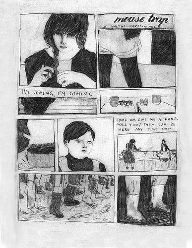 first page of my comic for the new issue of gang bang bong www.gangbangbong.com/