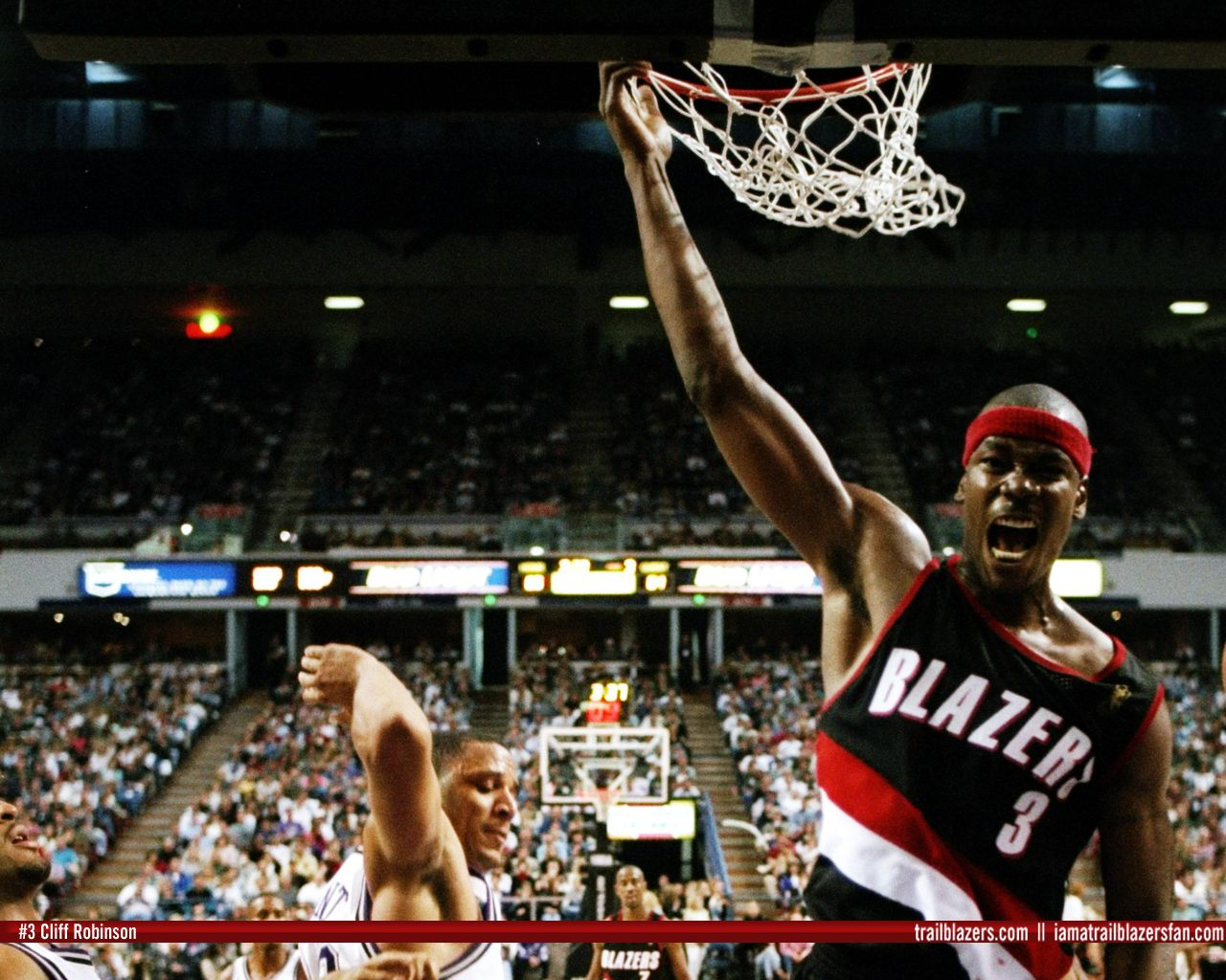 Cliff Robinson Sixth man for a lot of great Portland teams in