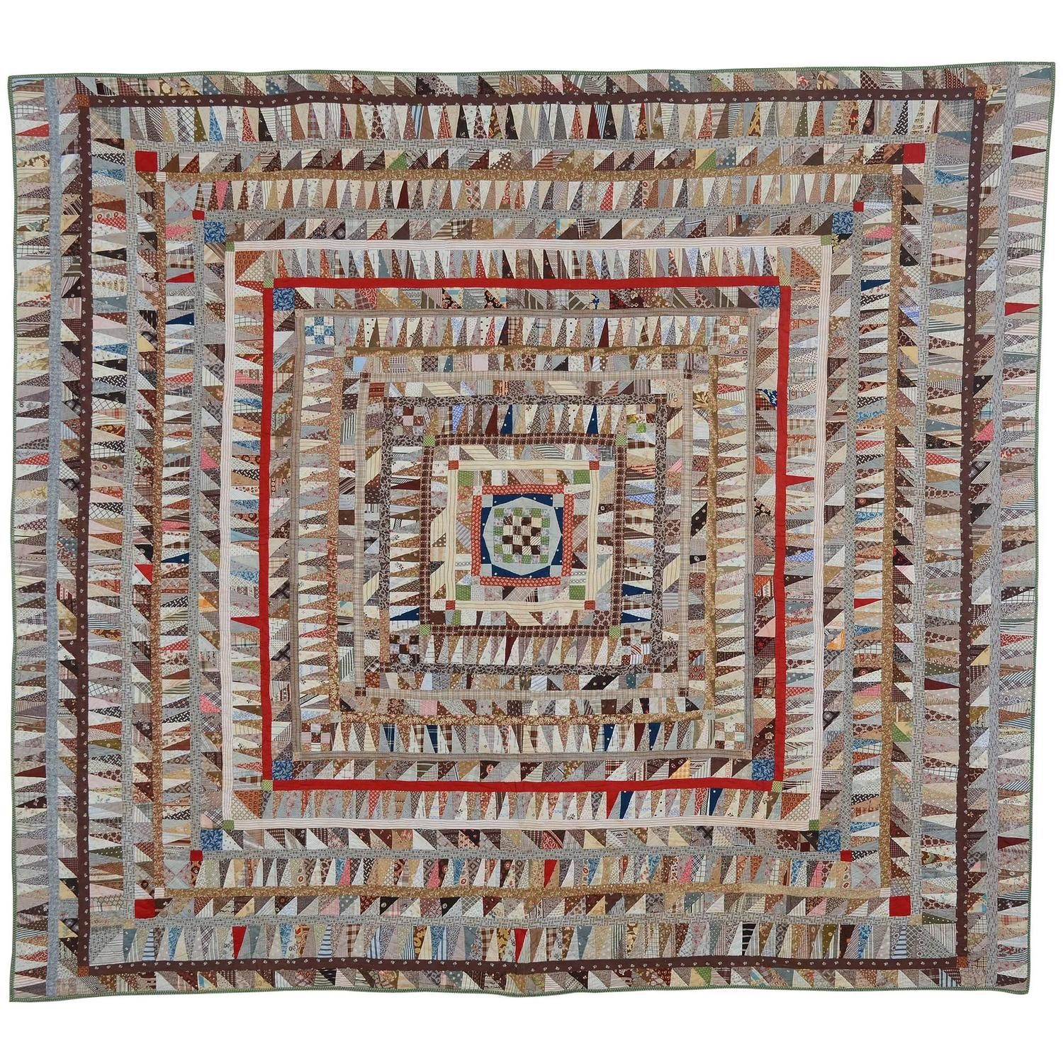 highly pieced center medallion quilt  quilts for sale quilt and  - highly pieced center medallion quilt