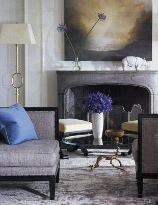 mantle | greys | slipper chair
