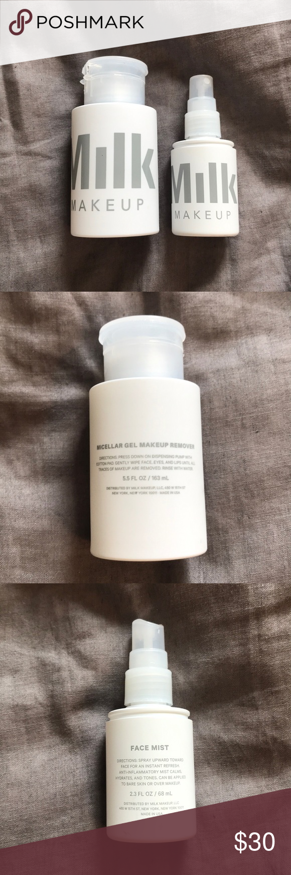 Milk Makeup Micellar Gel Remover & Face Mist Duo Milk