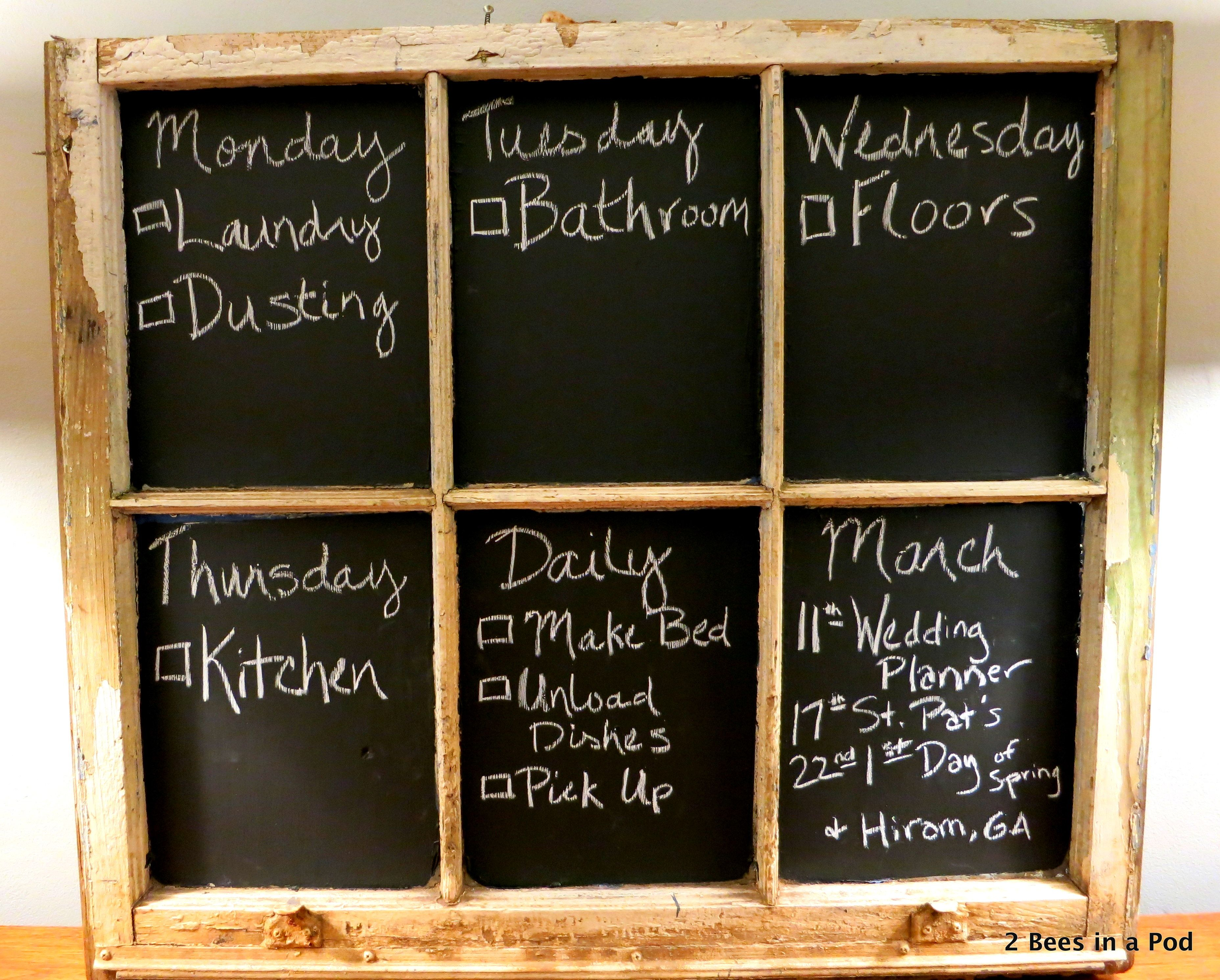 Chalkboard Chore Chart Chore Chart Chalkboard Chores