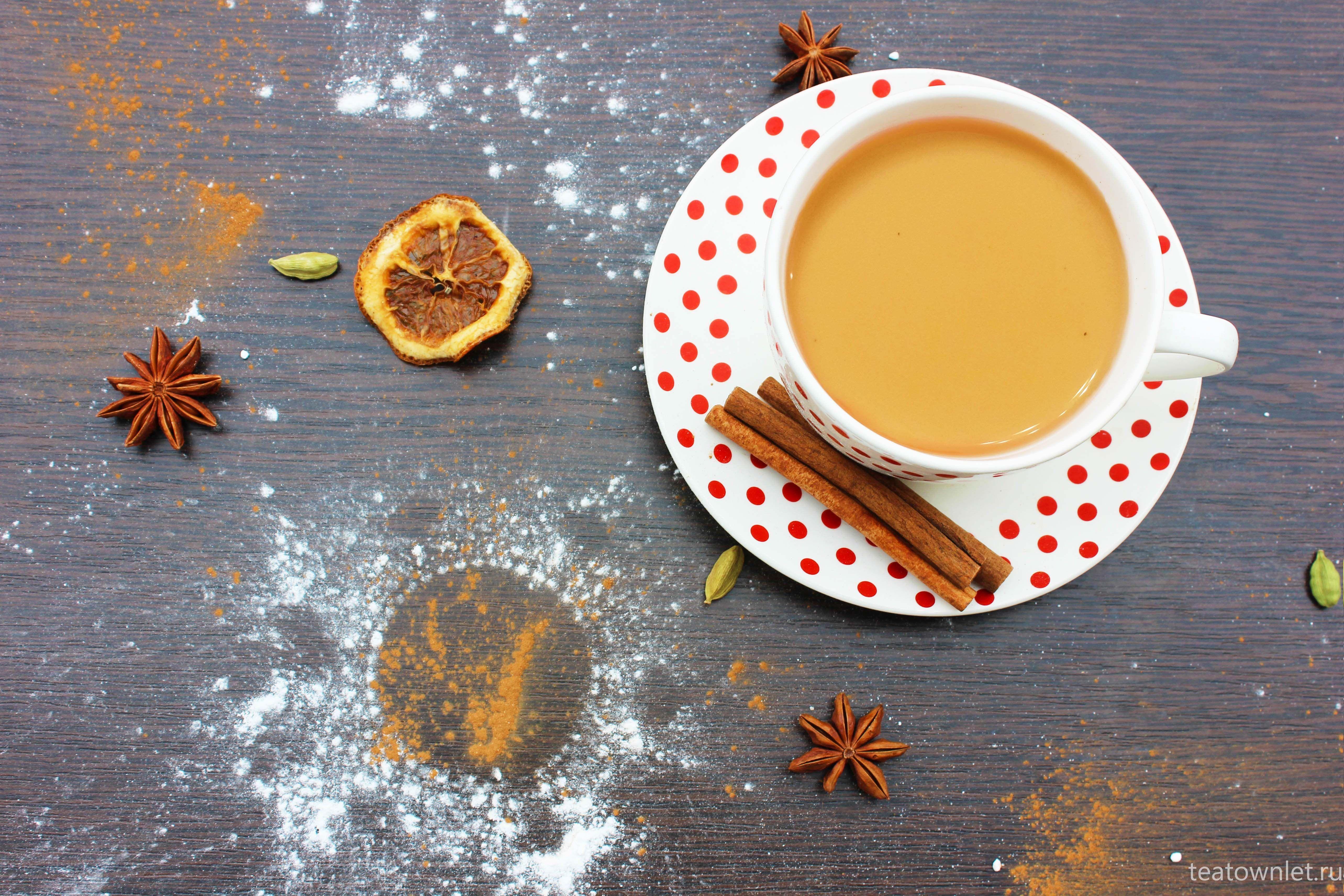 Масала чай (Masala chai) — свойства, cостав, вред и ...