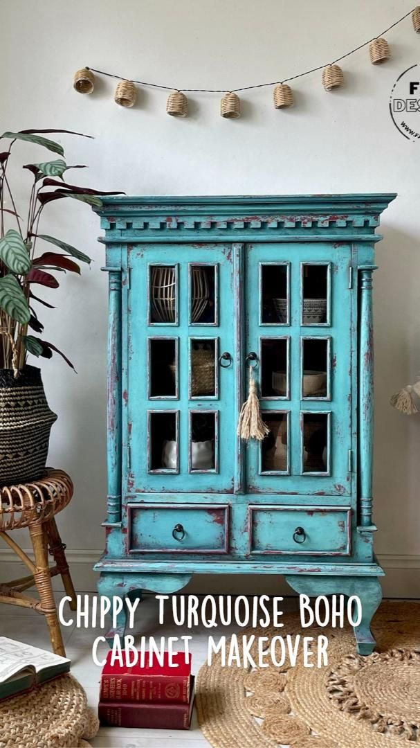 Eclectic Weathered Dresser ~