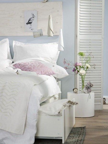 Arredamento casa al mare - Biancheria da letto bianca   Arredamento ...