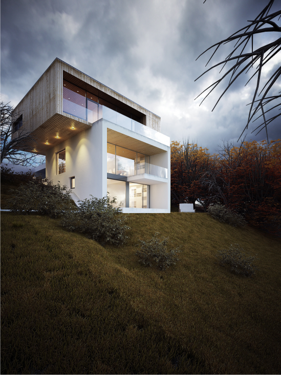 Casă Pe Deal House On The Hill Cluj Ro 2012 Architecture Architecture Visualization Architecture Design